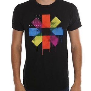 Red Hot Chili Peppers Rainbow Drip Asterisk Large